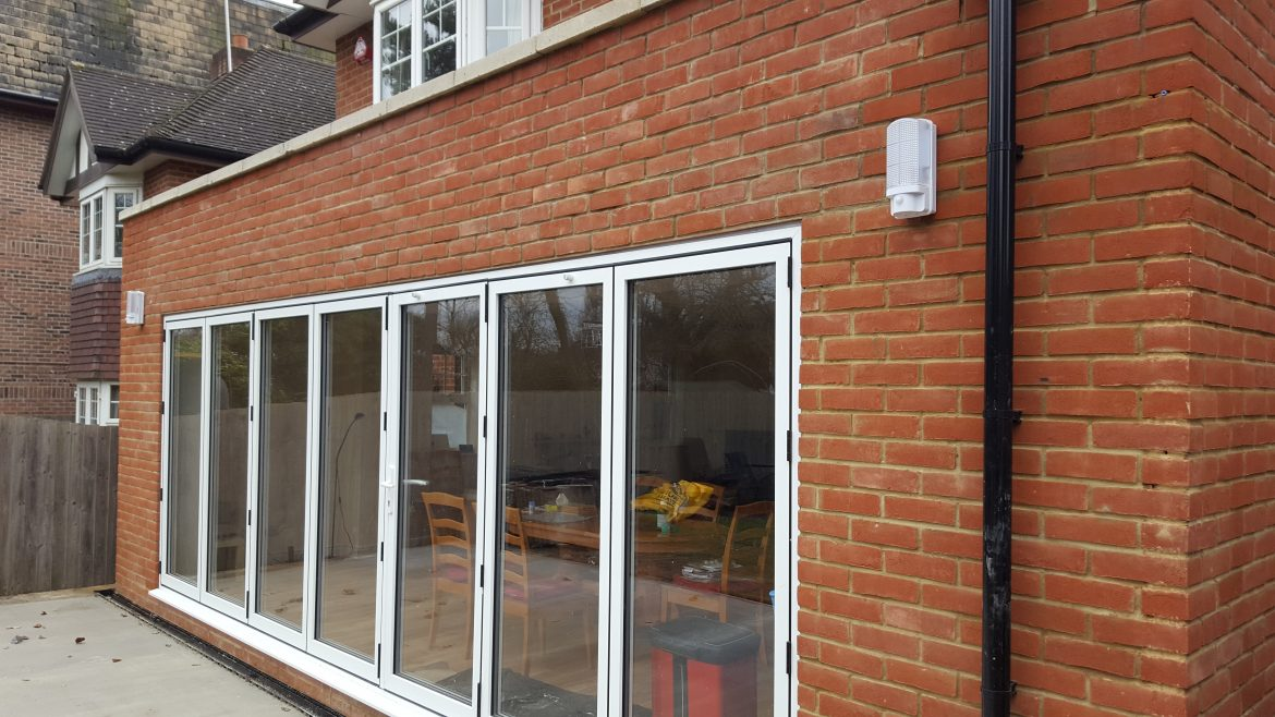 Extension project Alf Da Fre kitchen supply and fit Pal Lee Group
